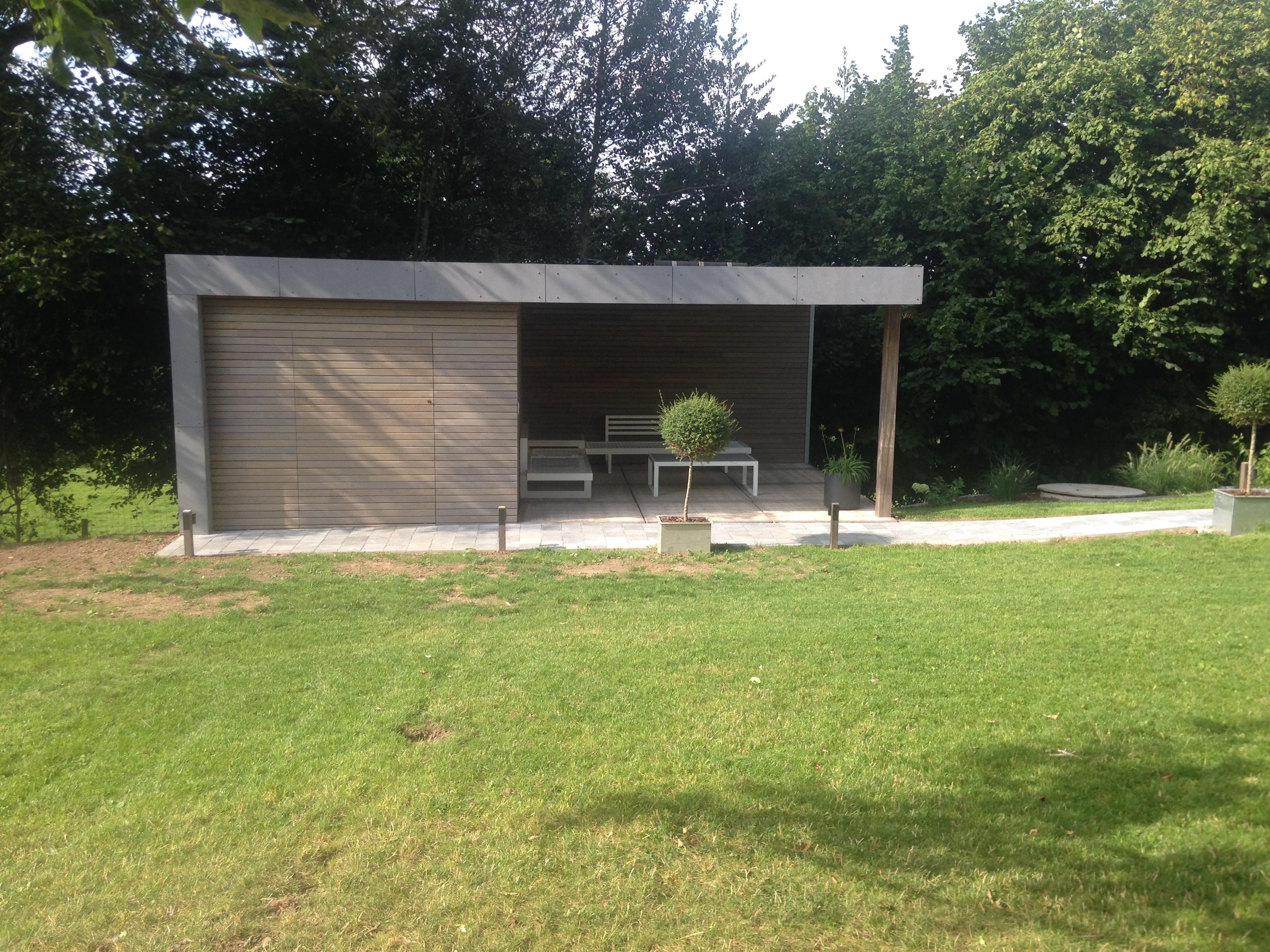 Jardin Sur Une Terrasse abri de jardin et terrasse couverte - gc déco construction