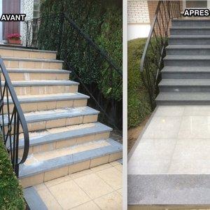 escaliers et couvre murs gc d 233 co construction