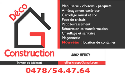 GC Déco Construction sur Facebook